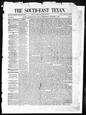 The South-East Texan (Jasper, Tex.), Vol. 1, No. 44, Ed. 1 Wednesday, December 8, 1880