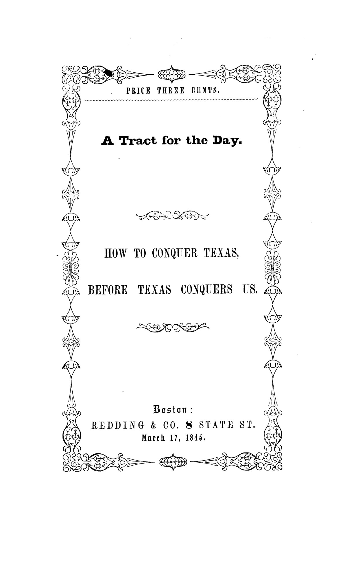 How to Conquer Texas, Before Texas Conquers Us                                                                                                      [Sequence #]: 1 of 16