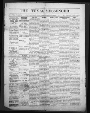 The Texas Messenger (Corsicana, Tex.), Vol. 3, No. 33, Ed. 1 Friday, September 1, 1882
