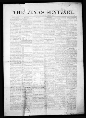Primary view of object titled 'The Texas Sentinel. (Brenham, Tex.), Vol. 1, No. 1, Ed. 1 Saturday, April 6, 1878'.