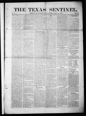 Primary view of object titled 'The Texas Sentinel. (Brenham, Tex.), Vol. 1, No. 47, Ed. 1 Wednesday, February 19, 1879'.