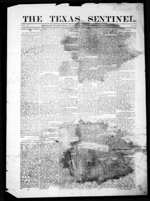 Primary view of object titled 'The Texas Sentinel. (Brenham, Tex.), Vol. 4, No. 36, Ed. 1 Wednesday, November 23, 1881'.