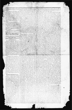 Primary view of object titled 'The Texas State Times (Austin, Tex.), Vol. 1, No. 13, Ed. 1 Thursday, March 2, 1854'.
