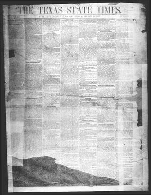 Primary view of object titled 'The Texas State Times (Austin, Tex.), Vol. 2, No. 14, Ed. 1 Saturday, March 10, 1855'.
