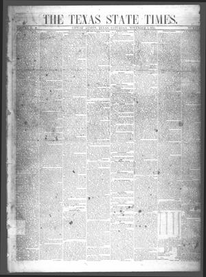 Primary view of object titled 'The Texas State Times (Austin, Tex.), Vol. 2, No. 47, Ed. 1 Saturday, November 3, 1855'.