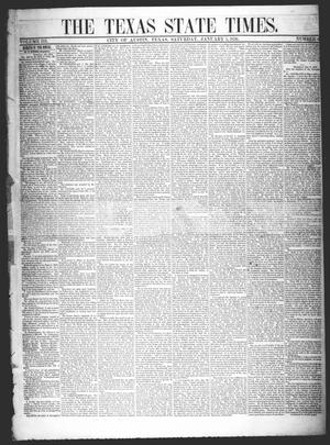 The Texas State Times (Austin, Tex.), Vol. 3, No. 4, Ed. 1 Saturday, January 5, 1856