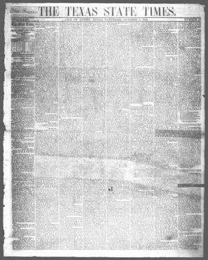 Primary view of object titled 'The Texas State Times (Austin, Tex.), Vol. 3, No. 43, Ed. 1 Saturday, October 4, 1856'.