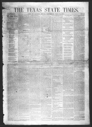 The Texas State Times (Austin, Tex.), Vol. 4, No. 19, Ed. 1 Saturday, May 16, 1857
