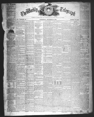 The Weekly Telegraph (Houston, Tex.), Vol. 23, No. 34, Ed. 1 Wednesday, November 11, 1857