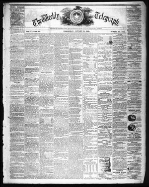 The Weekly Telegraph (Houston, Tex.), Vol. 25, No. 43, Ed. 1 Wednesday, January 11, 1860