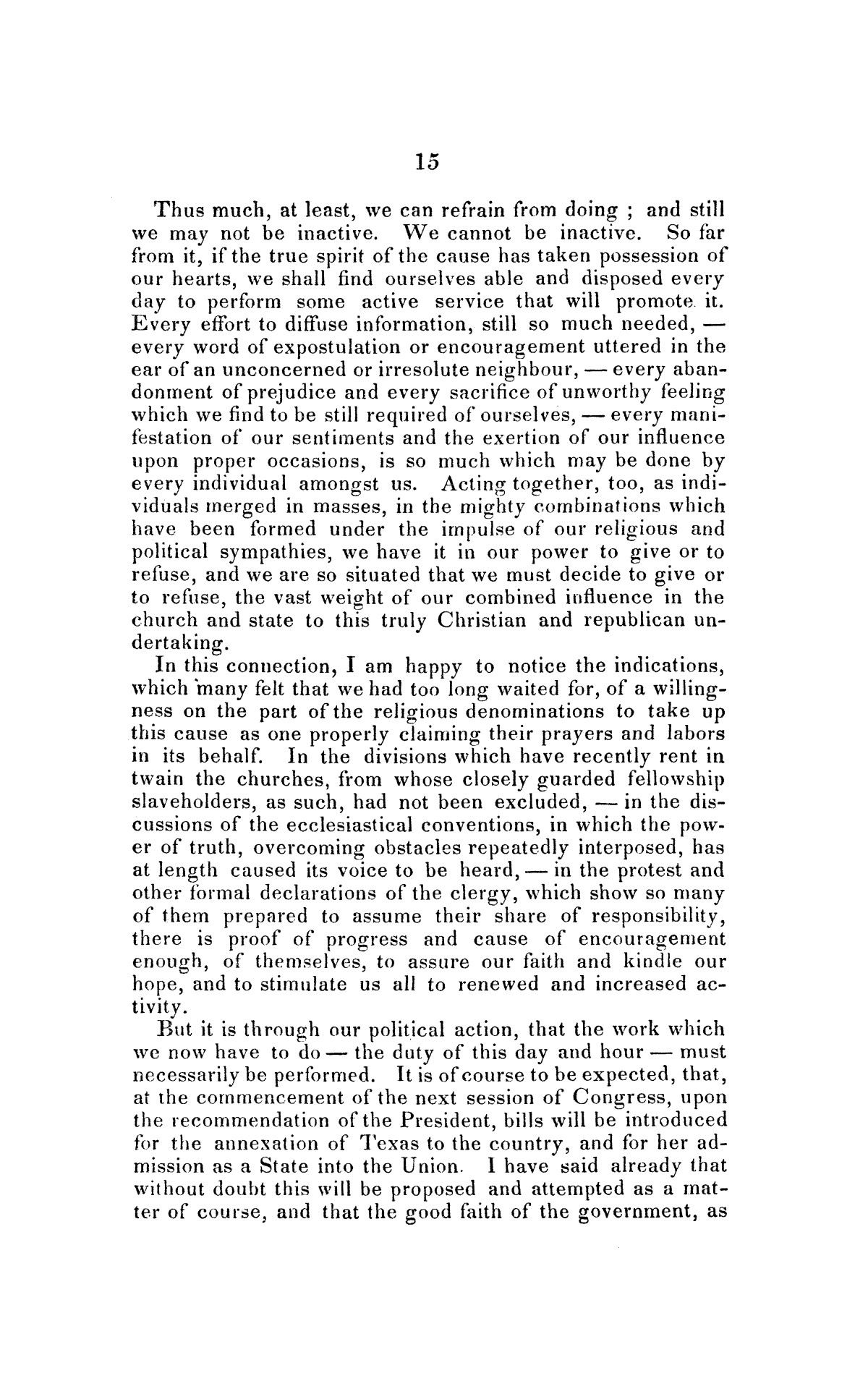 Address on the annexation of Texas, and the aspect of slavery in the United States, in connection therewith: delivered in Boston November 14 and 18, 1845                                                                                                      [Sequence #]: 15 of 56