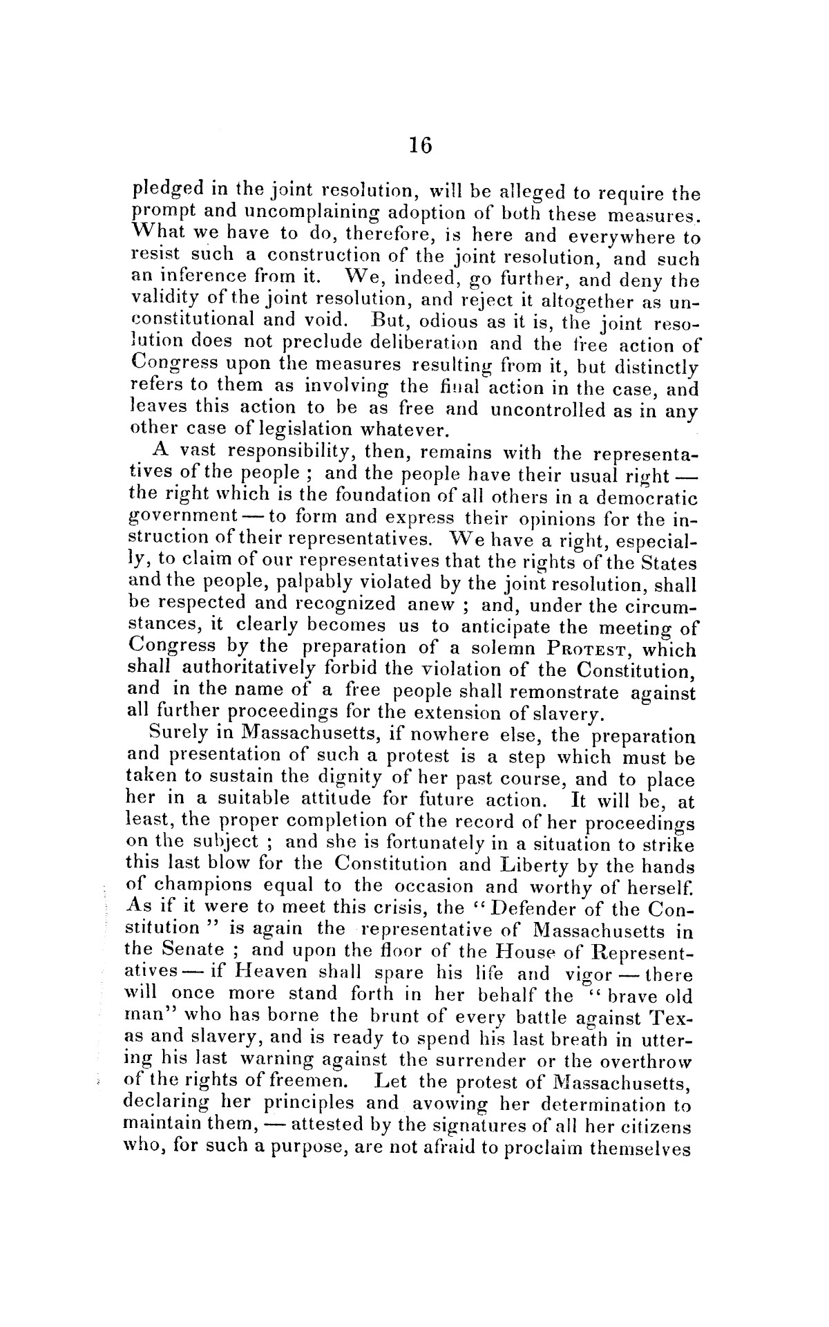 Address on the annexation of Texas, and the aspect of slavery in the United States, in connection therewith: delivered in Boston November 14 and 18, 1845                                                                                                      [Sequence #]: 16 of 56