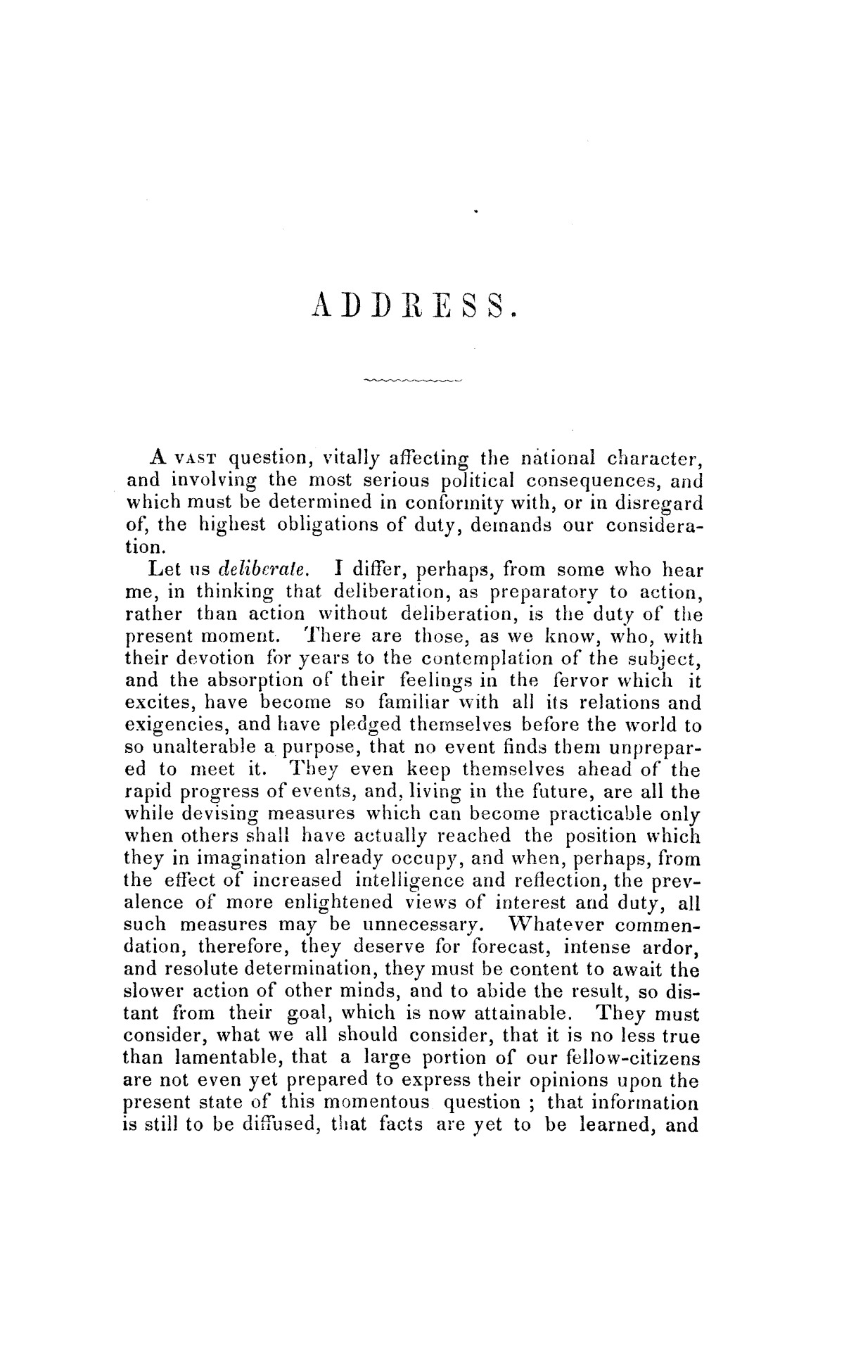 Address on the annexation of Texas, and the aspect of slavery in the United States, in connection therewith: delivered in Boston November 14 and 18, 1845                                                                                                      [Sequence #]: 3 of 56