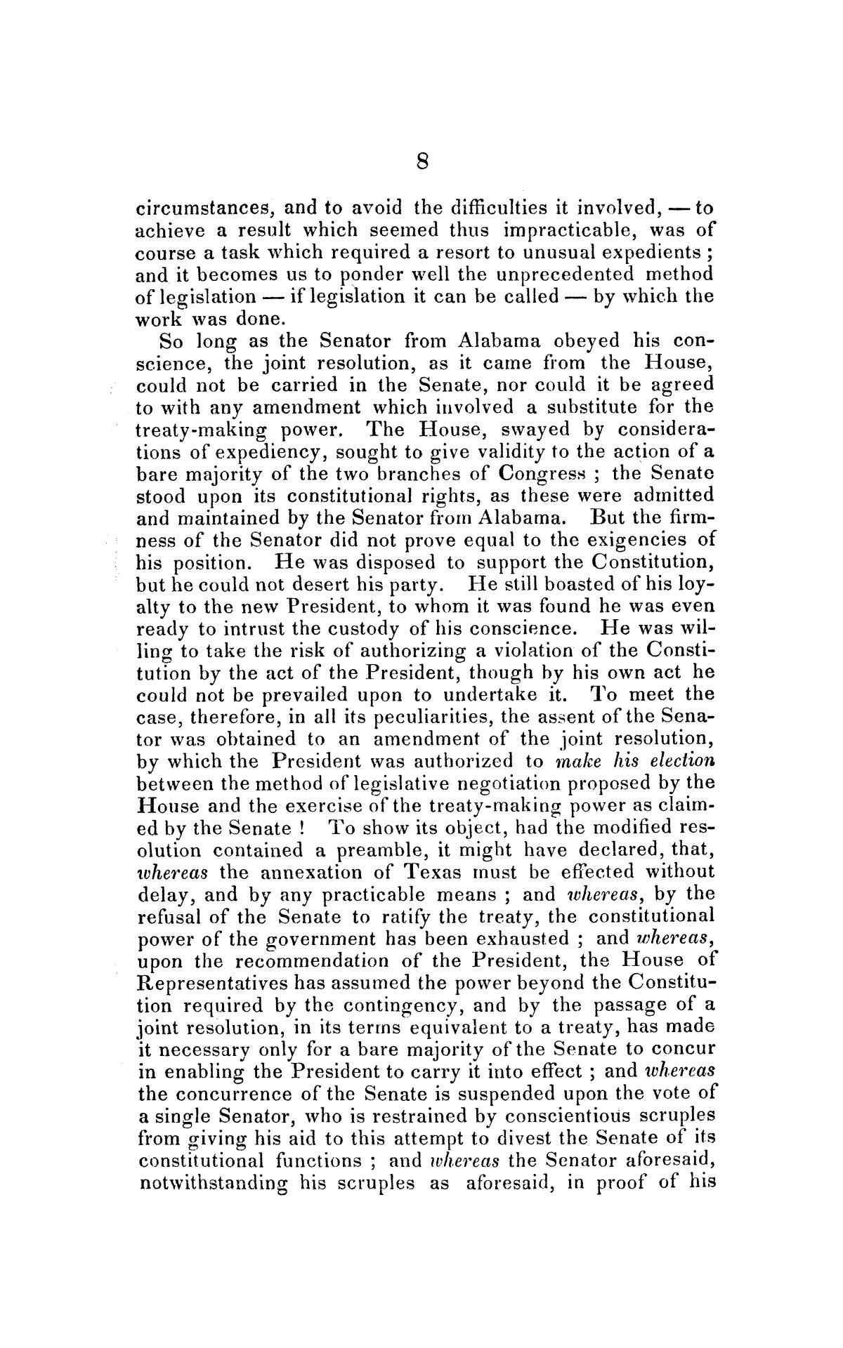 Address on the annexation of Texas, and the aspect of slavery in the United States, in connection therewith: delivered in Boston November 14 and 18, 1845                                                                                                      [Sequence #]: 8 of 56