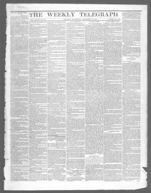 Primary view of object titled 'The Weekly Telegraph (Houston, Tex.), Vol. 28, No. 42, Ed. 1 Wednesday, December 31, 1862'.