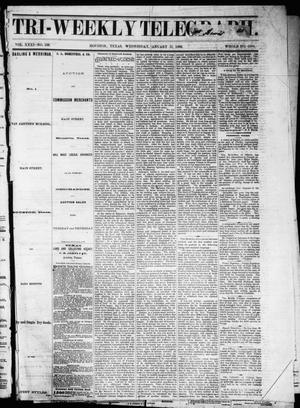 Primary view of Tri-Weekly Telegraph (Houston, Tex.), Vol. 31, No. 136, Ed. 1 Wednesday, January 17, 1866