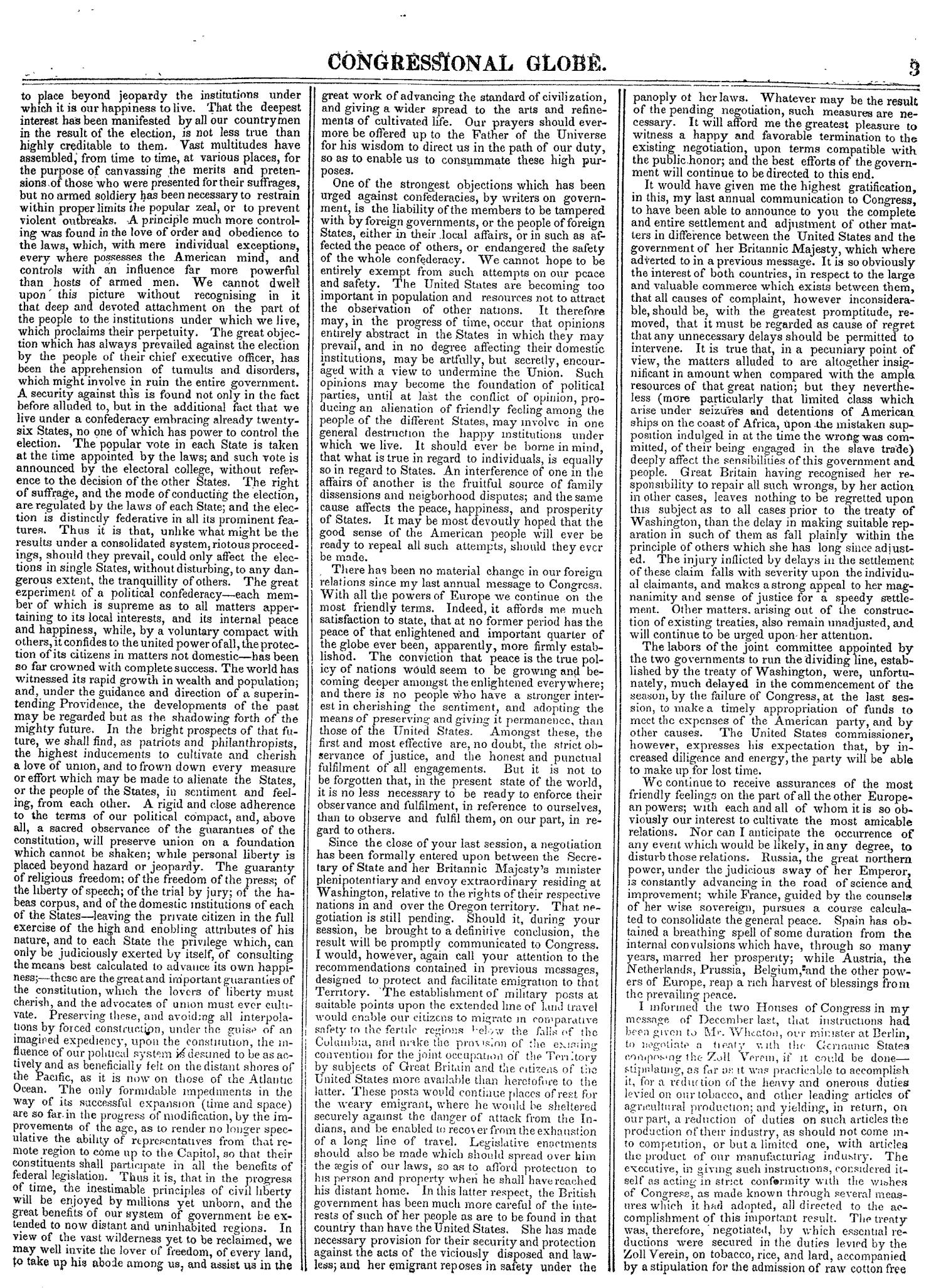 The Congressional Globe, Volume 14: Twenty-Eighth Congress, Second Session                                                                                                      3