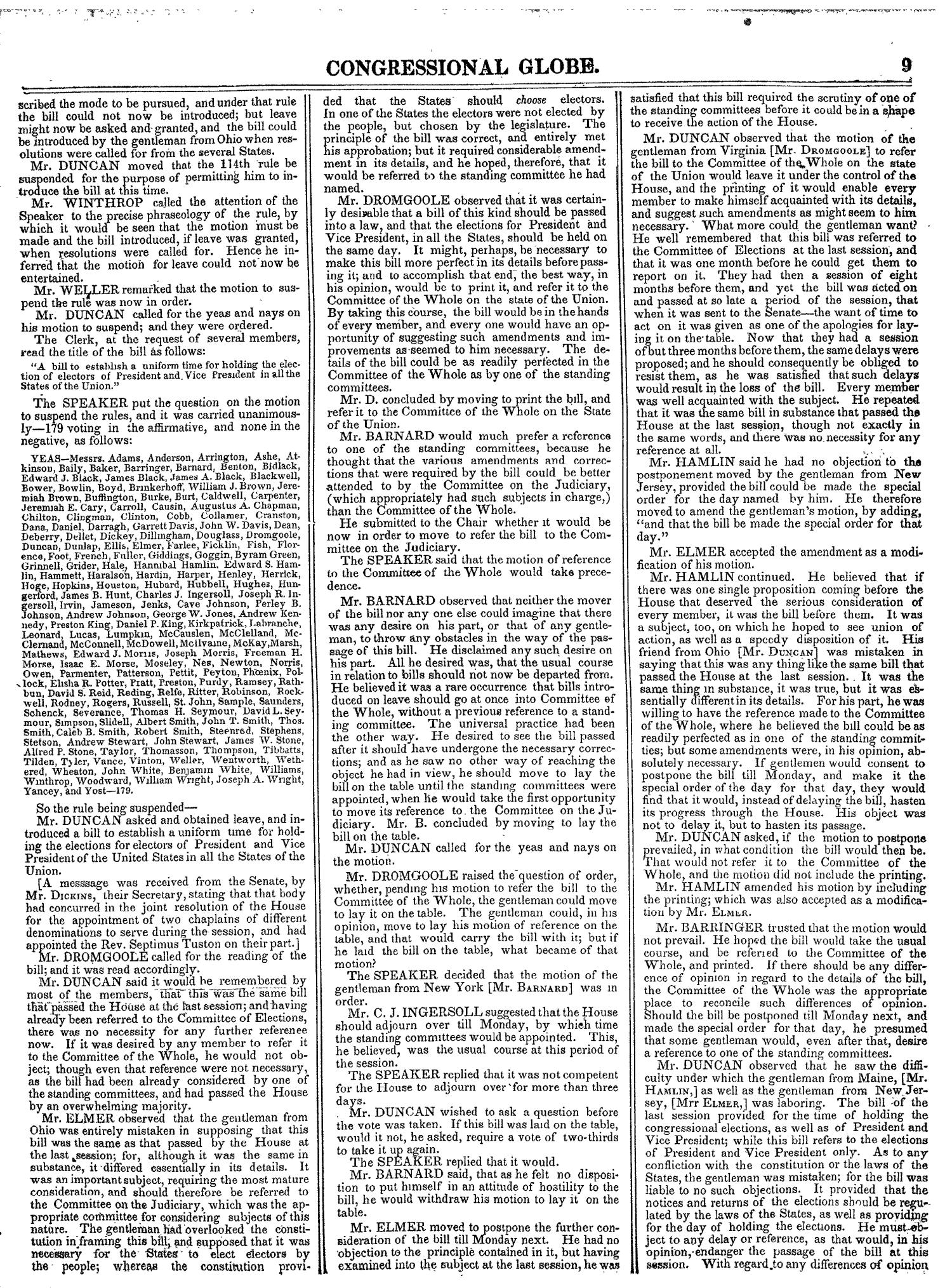 The Congressional Globe, Volume 14: Twenty-Eighth Congress, Second Session                                                                                                      9