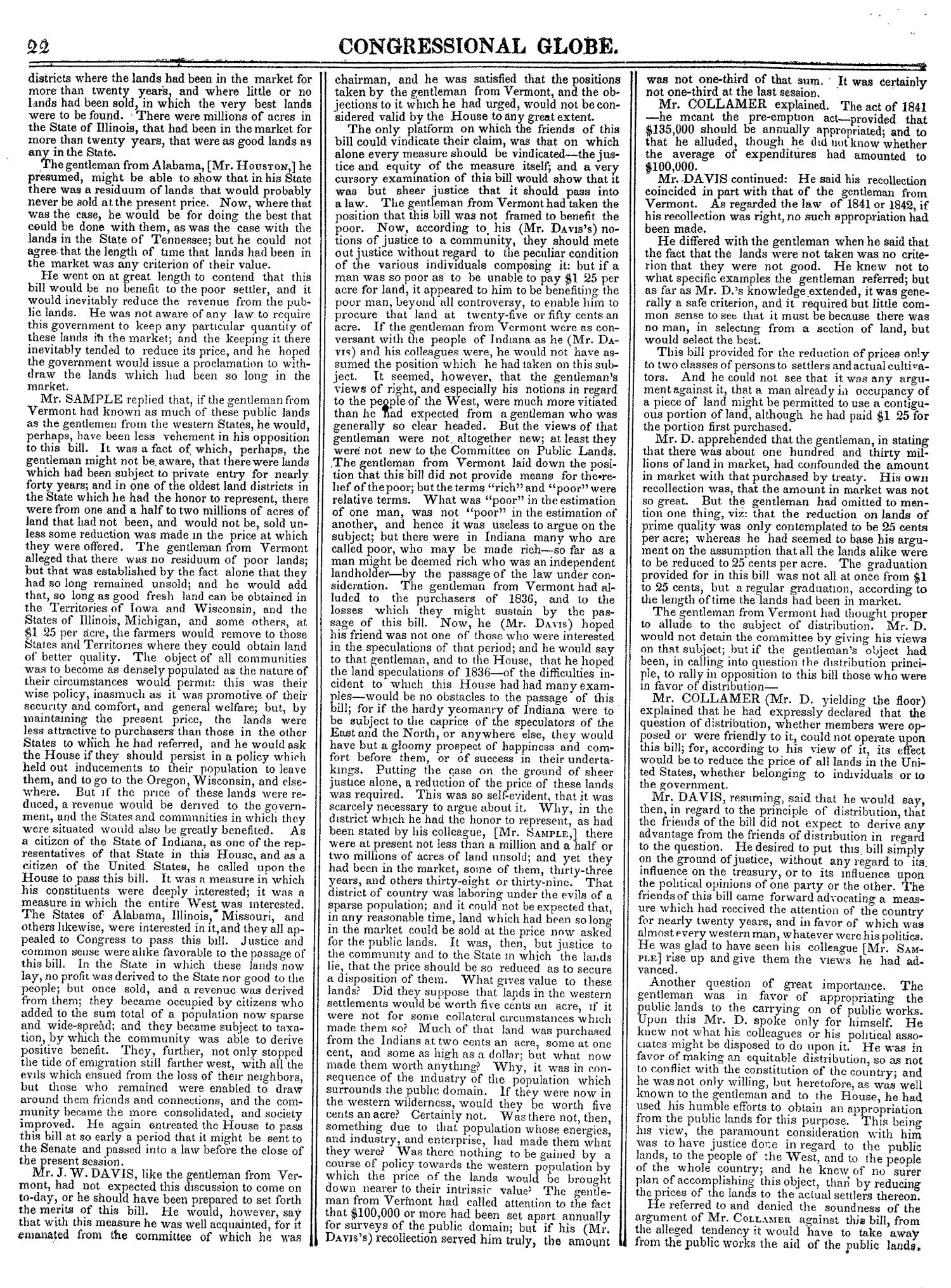 The Congressional Globe, Volume 14: Twenty-Eighth Congress, Second Session                                                                                                      22