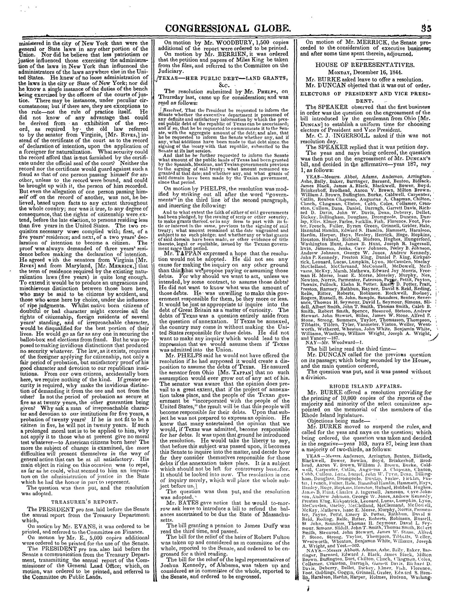The Congressional Globe, Volume 14: Twenty-Eighth Congress, Second Session                                                                                                      35