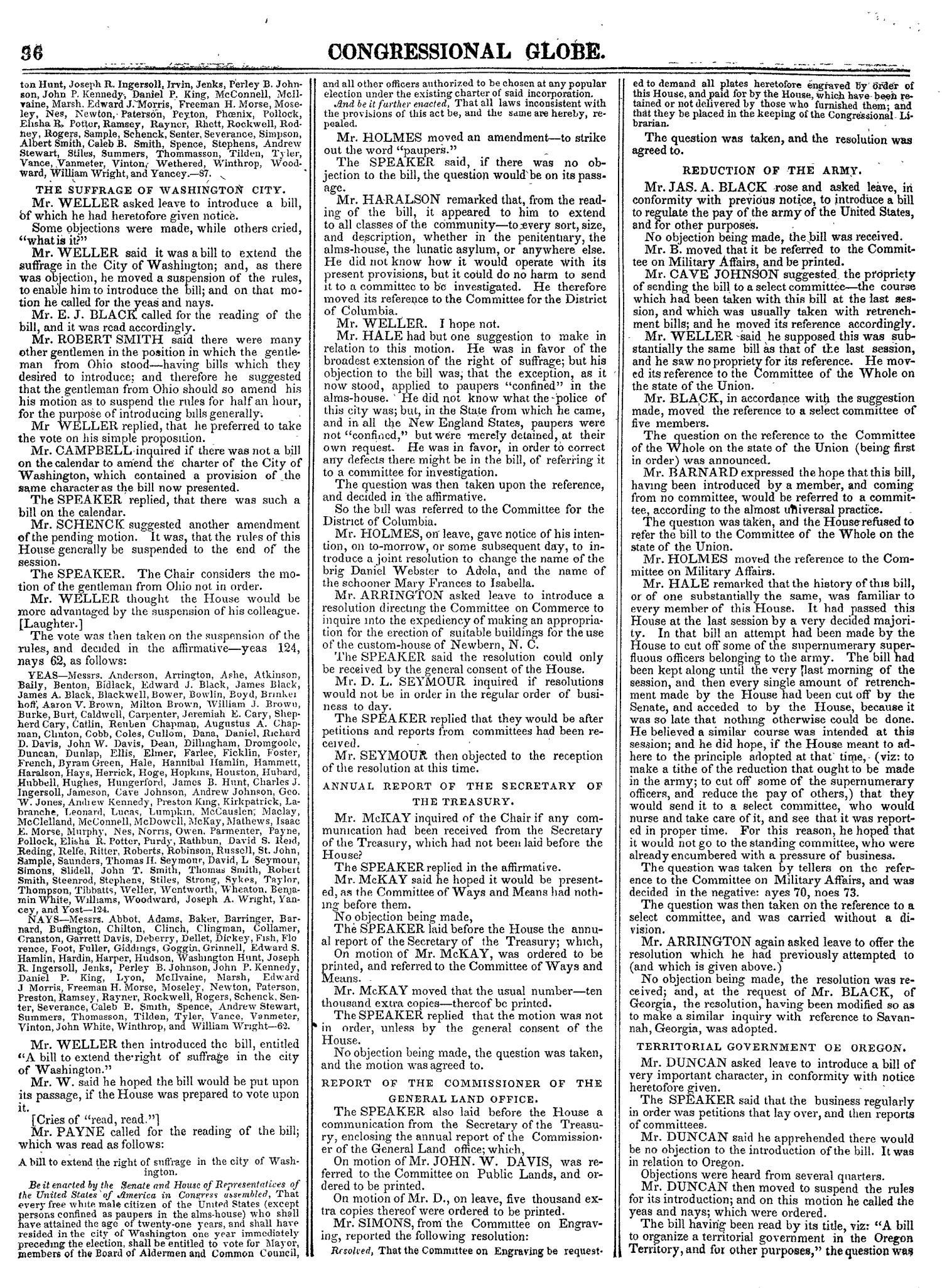 The Congressional Globe, Volume 14: Twenty-Eighth Congress, Second Session                                                                                                      36