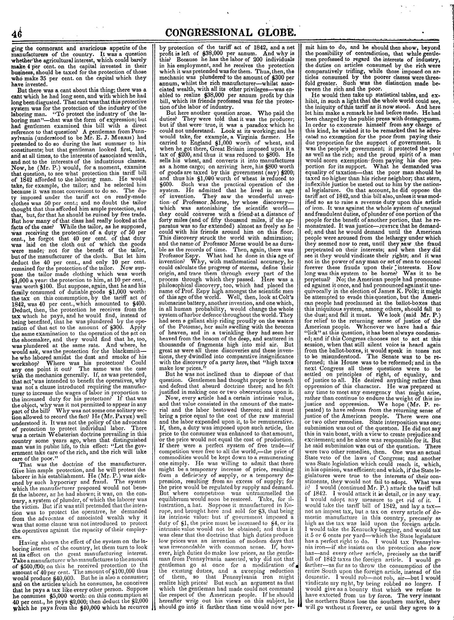 The Congressional Globe, Volume 14: Twenty-Eighth Congress, Second Session                                                                                                      46