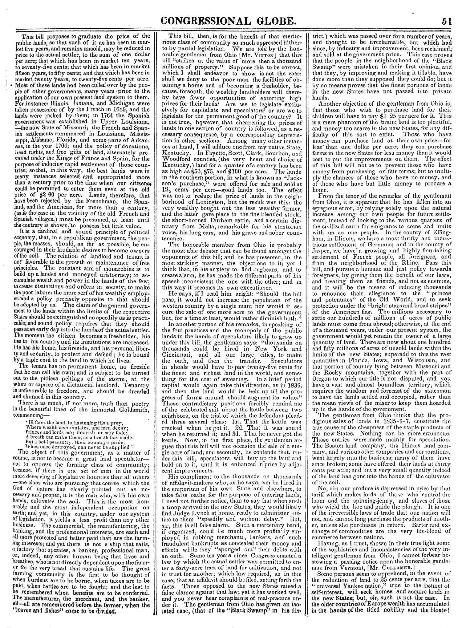 The Congressional Globe, Volume 14: Twenty-Eighth Congress, Second Session                                                                                                      51