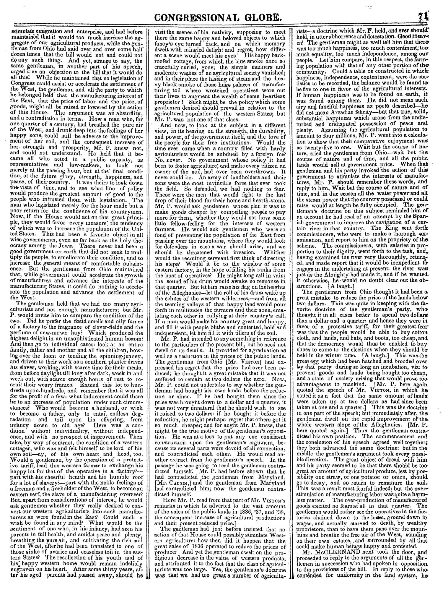 The Congressional Globe, Volume 14: Twenty-Eighth Congress, Second Session                                                                                                      71