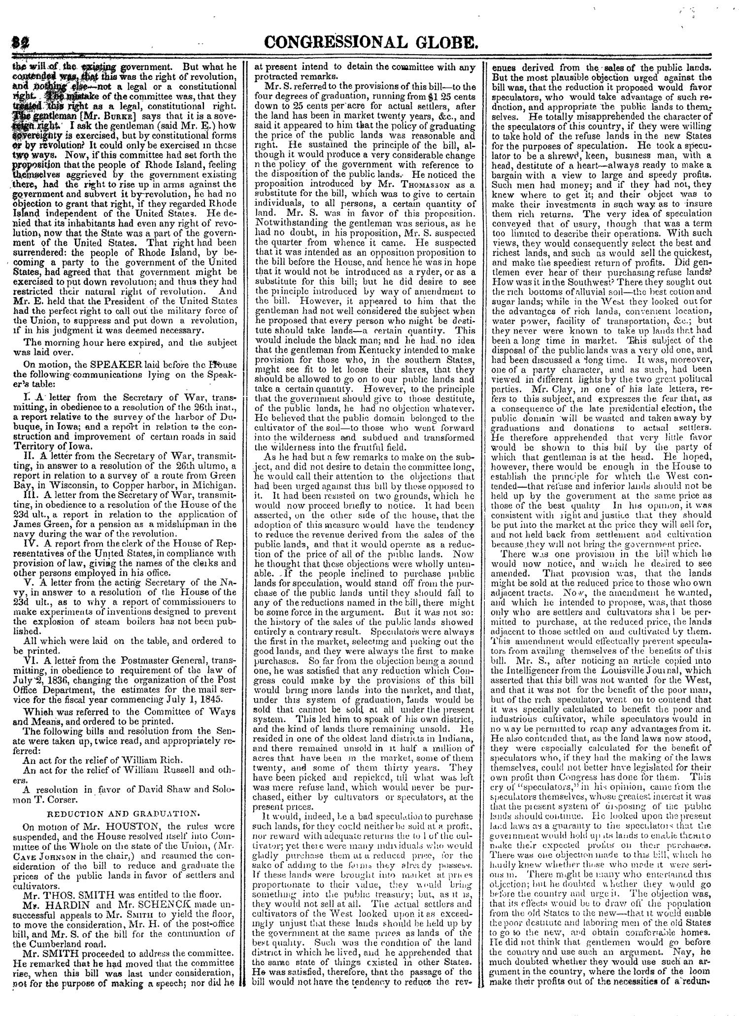 The Congressional Globe, Volume 14: Twenty-Eighth Congress, Second Session                                                                                                      82