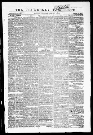 Primary view of The Tri-Weekly Telegraph (Houston, Tex.), Vol. 29, No. 137, Ed. 1 Wednesday, February 3, 1864