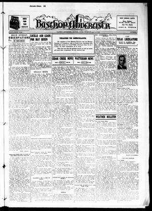 Primary view of object titled 'Bastrop Advertiser (Bastrop, Tex.), Vol. 86, No. 4, Ed. 1 Thursday, April 13, 1939'.