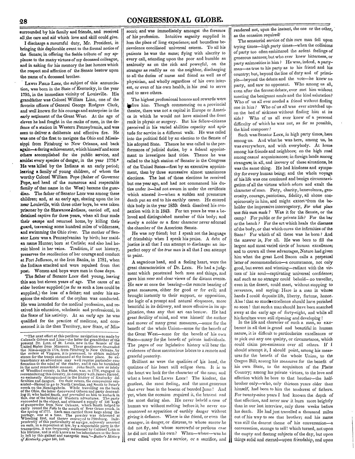 The Congressional Globe, Volume 13, Part 1: Twenty-Eighth Congress, First Session                                                                                                      28