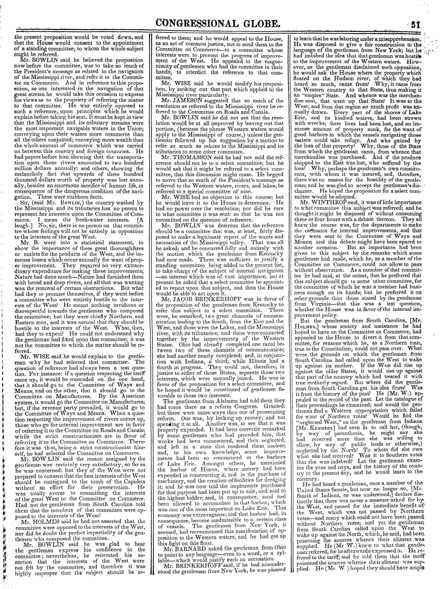 The Congressional Globe, Volume 13, Part 1: Twenty-Eighth Congress, First Session                                                                                                      51