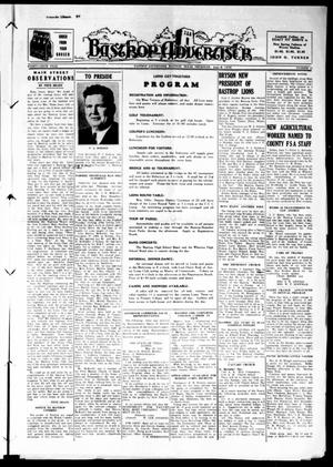 Primary view of object titled 'Bastrop Advertiser (Bastrop, Tex.), Vol. 86, No. 12, Ed. 1 Thursday, June 8, 1939'.