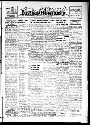 Bastrop Advertiser (Bastrop, Tex.), Vol. 87, No. 22, Ed. 1 Thursday, August 15, 1940