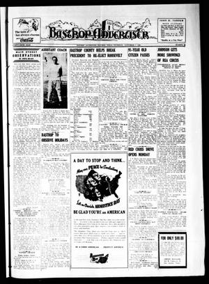 Primary view of object titled 'Bastrop Advertiser (Bastrop, Tex.), Vol. 87, No. 34, Ed. 1 Thursday, November 7, 1940'.