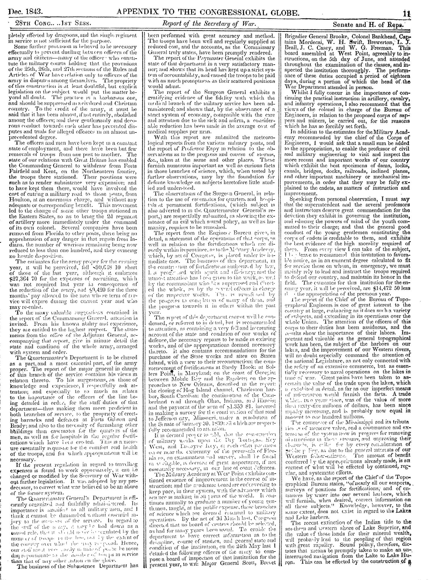 The Congressional Globe, Volume 13, Part 2: Twenty-Eighth Congress, First Session                                                                                                      11