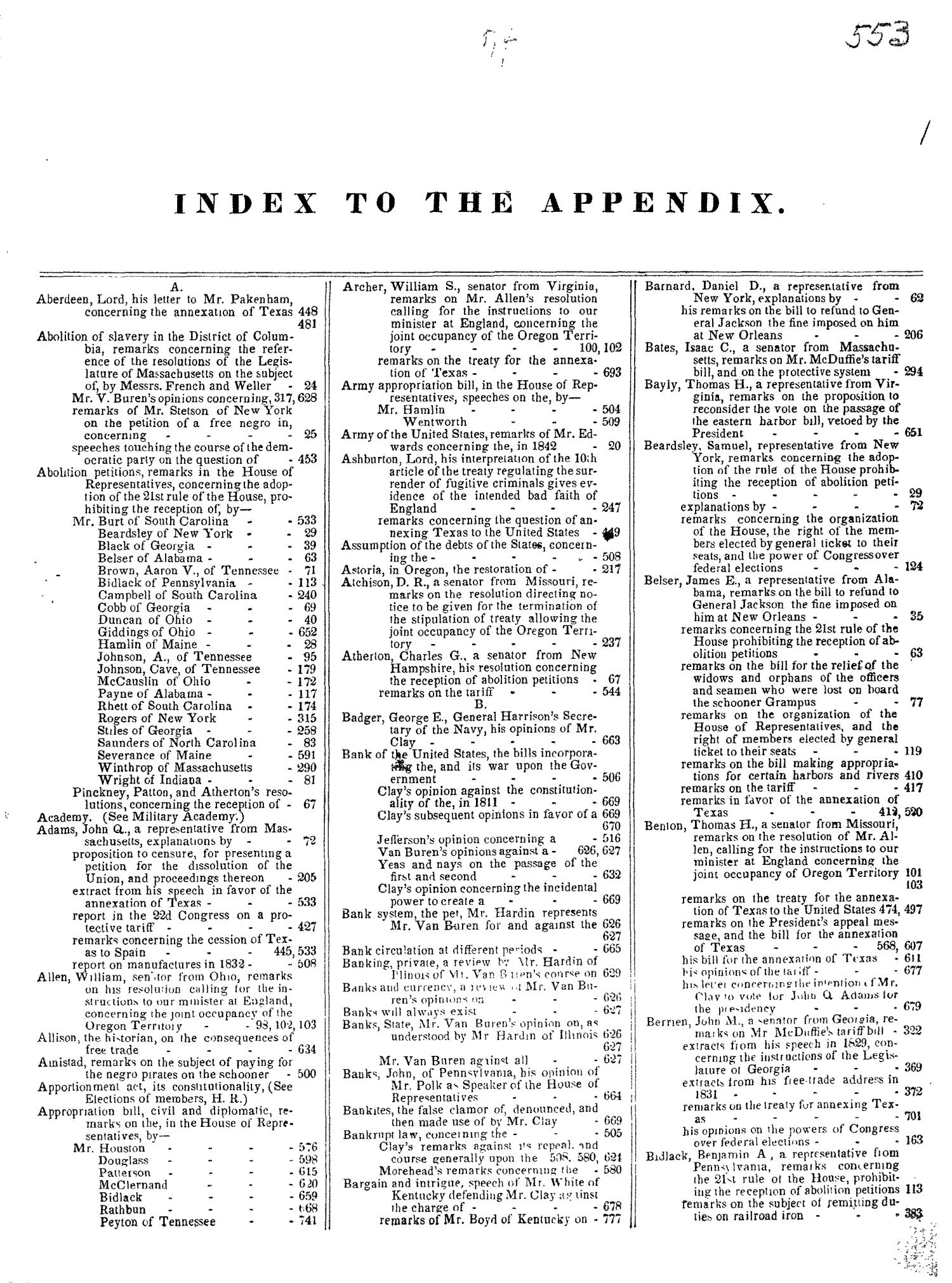 The Congressional Globe, Volume 13, Part 2: Twenty-Eighth Congress, First Session                                                                                                      None
