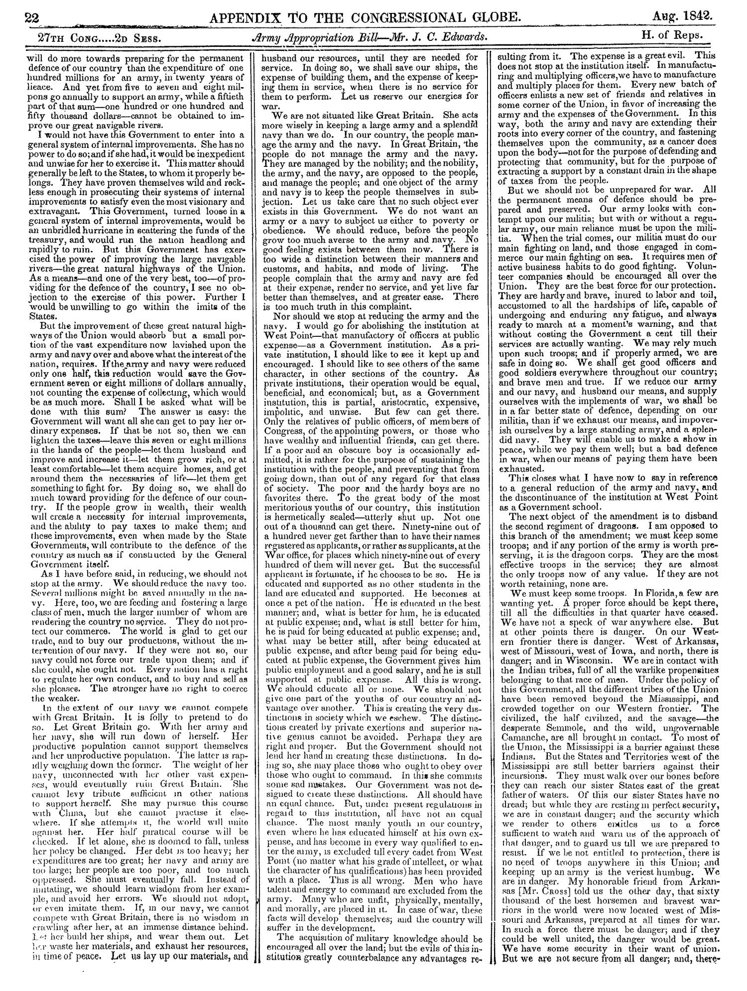 The Congressional Globe, Volume 13, Part 2: Twenty-Eighth Congress, First Session                                                                                                      22