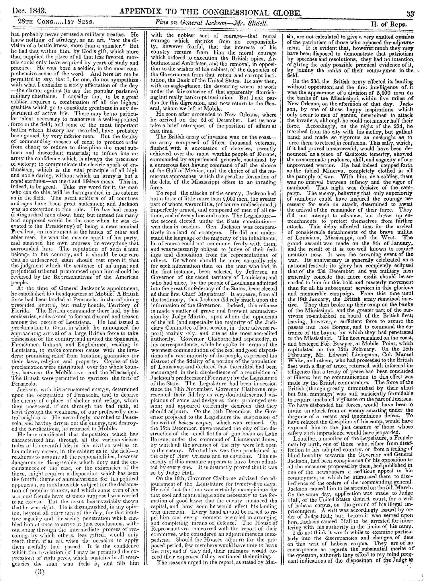 The Congressional Globe, Volume 13, Part 2: Twenty-Eighth Congress, First Session                                                                                                      33