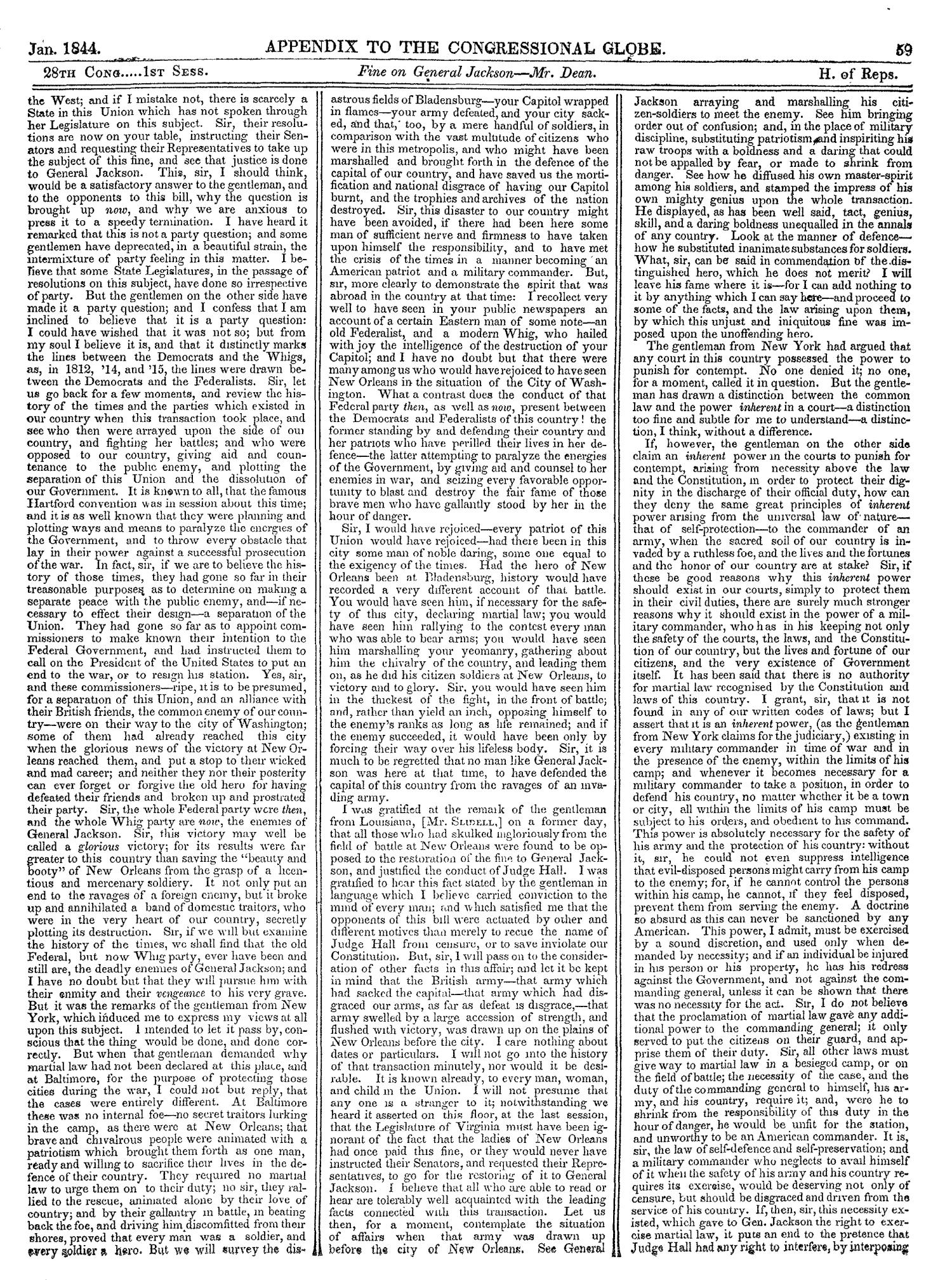 The Congressional Globe, Volume 13, Part 2: Twenty-Eighth Congress, First Session                                                                                                      59