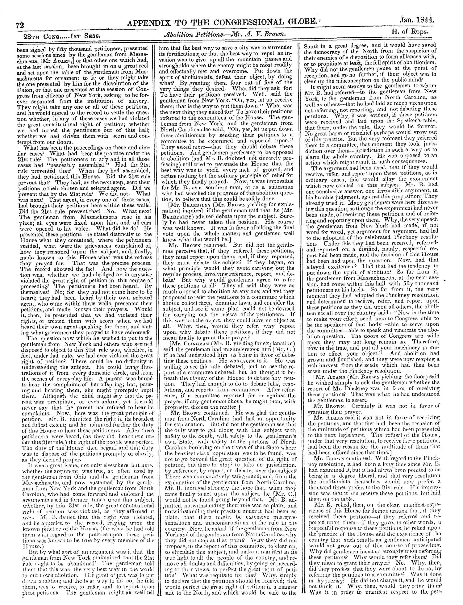 The Congressional Globe, Volume 13, Part 2: Twenty-Eighth Congress, First Session                                                                                                      72