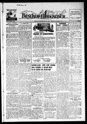 Primary view of object titled 'Bastrop Advertiser (Bastrop, Tex.), Vol. 88, No. 40, Ed. 1 Thursday, December 25, 1941'.