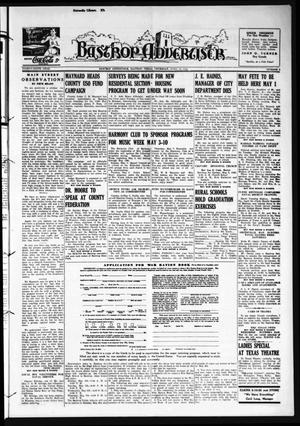 Primary view of object titled 'Bastrop Advertiser (Bastrop, Tex.), Vol. 89, No. 6, Ed. 1 Thursday, April 30, 1942'.