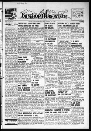 Primary view of object titled 'Bastrop Advertiser (Bastrop, Tex.), Vol. 89, No. 8, Ed. 1 Thursday, May 14, 1942'.