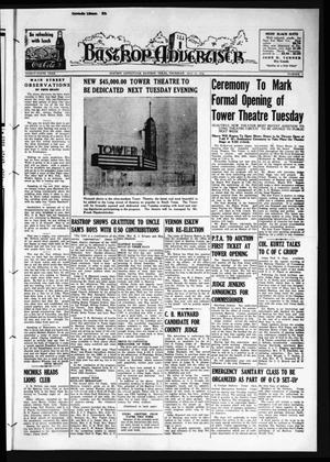 Primary view of object titled 'Bastrop Advertiser (Bastrop, Tex.), Vol. 89, No. 9, Ed. 1 Thursday, May 21, 1942'.