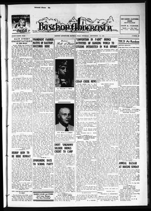 Primary view of object titled 'Bastrop Advertiser (Bastrop, Tex.), Vol. 89, No. 25, Ed. 1 Thursday, September 10, 1942'.