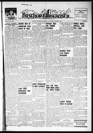 Primary view of object titled 'Bastrop Advertiser (Bastrop, Tex.), Vol. 89, No. 29, Ed. 1 Thursday, October 8, 1942'.