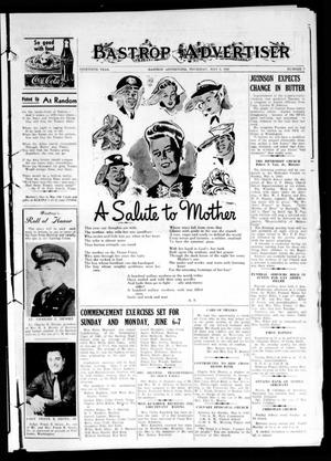 Primary view of object titled 'Bastrop Advertiser (Bastrop, Tex.), Vol. 90, No. 7, Ed. 1 Thursday, May 6, 1943'.