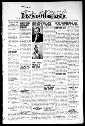 Primary view of object titled 'Bastrop Advertiser (Bastrop, Tex.), Vol. 92, No. 42, Ed. 1 Thursday, January 3, 1946'.